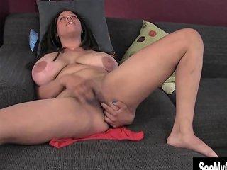Seemyorgasm Huge Titted Shannon Finger Her Dark Beaver Porn Videos