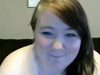 18yo Fat Teen Showing And Masturbating On Webcam