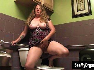 Busty Milf Jade Masturbating